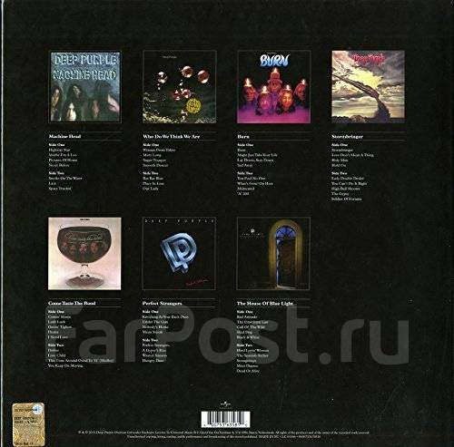 Deep Purple - (Limited 7 LP Box) (Vinyl LP). Под заказ