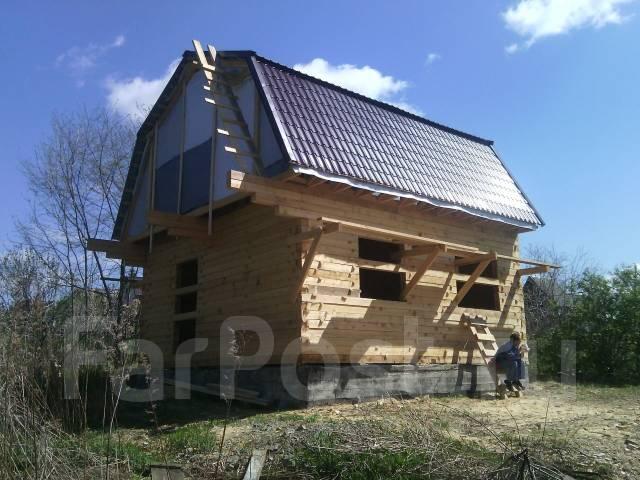 Отличный Участок и Дом из Бруса 70м2. От частного лица (собственник)