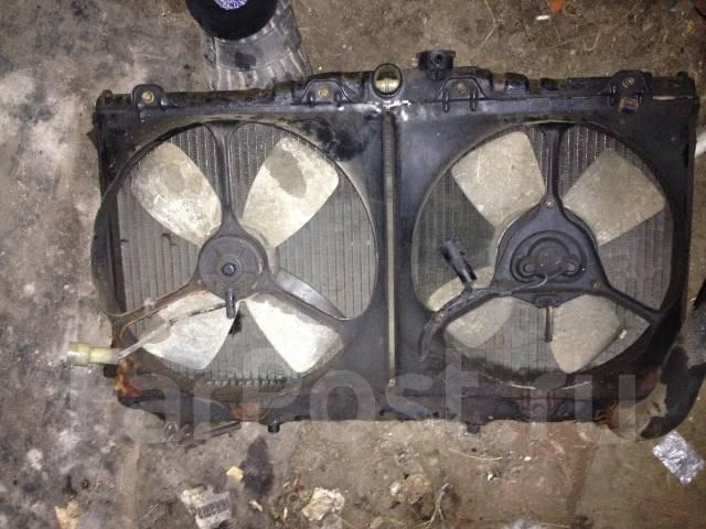Радиатор охлаждения двигателя. Toyota Vista, SV10, SV11 Toyota Camry, SV10, SV11 Двигатели: 1SILU, 2SELU, 1SLU, 1SL, 2SELC, 2SEL