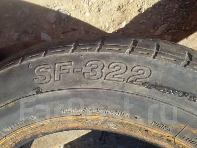 Bridgestone SF-322. Летние, 2009 год, износ: 40%, 2 шт
