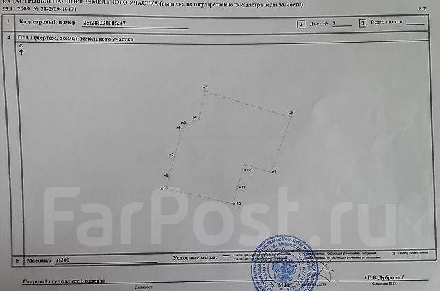 Земельный участок в районе Чуркина. 1 200 кв.м., собственность, аренда, электричество, вода, от частного лица (собственник). Схема участка