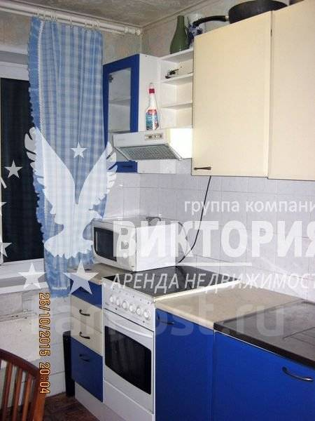 2-комнатная, улица Запорожская 2. Чуркин, агентство, 48 кв.м. Кухня