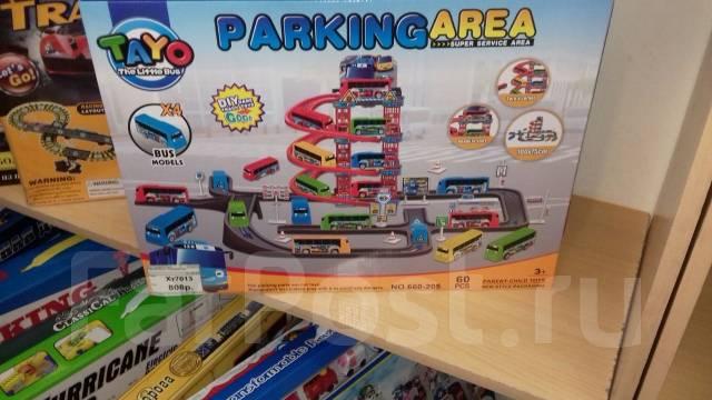 Продаётся новая парковка с автобусами Тайо.