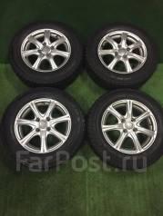 Литые диски R14 c зимними шинами 175/70R14 84Q Dunlop DSX. 5.5x14 4x100.00 ET50
