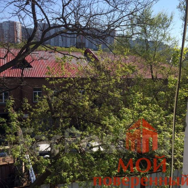1-комнатная, улица Нестерова 7. Борисенко, агентство, 22 кв.м. Вид из окна днём