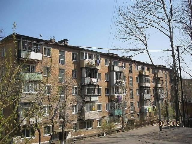 1-комнатная, улица Луговая 77. Баляева, агентство, 30 кв.м. Дом снаружи