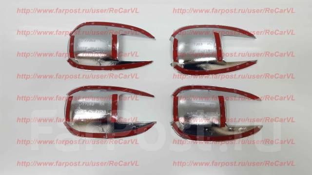 Накладка на ручки дверей. Toyota Land Cruiser, VDJ200, URJ202W, UZJ200W, URJ202, UZJ200