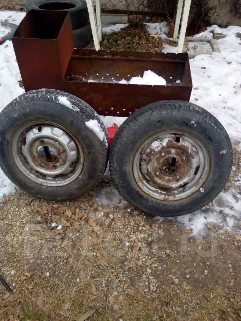 Пара грузовых калес