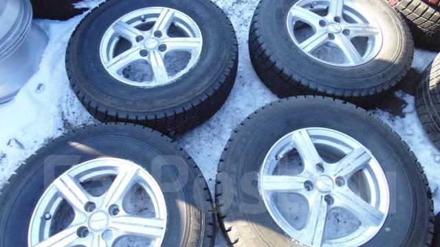Продам комплект колес 195/80R14. 5.5x14 4x100.00 ET45 ЦО 67,0мм.
