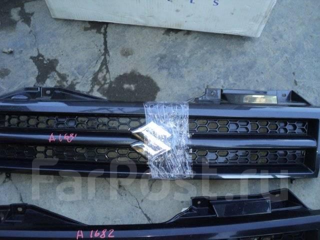 Решетка радиатора. Suzuki Jimny, JB43, JA71C, JA12W, JA51W, JB23W, SJ40V, JB43W, SJ40, JA12V, JA11V, JA22W, JA71V, JA51V, JB33W, JB31W, JB32W, JA51C...