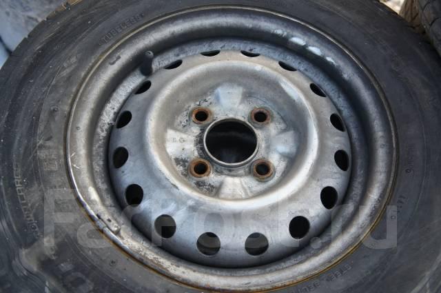 Продам комплект колес, возможна отправка. 5.0x13 4x100.00 ЦО 60,0мм.