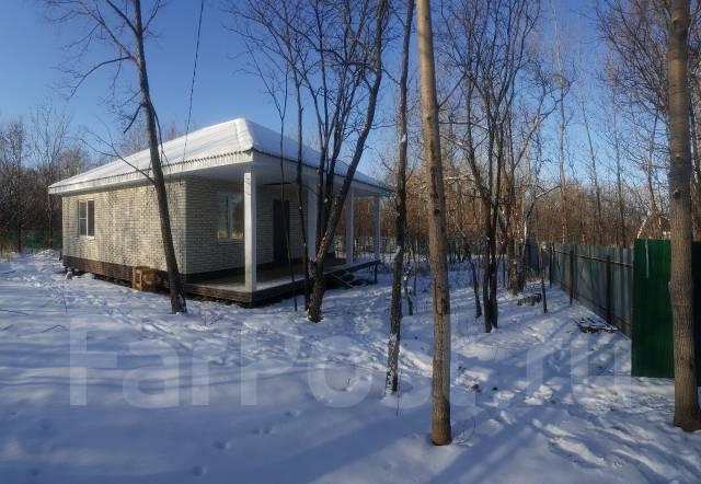 Новый дом заезжай-живи. Бирюзовая 38, р-н Индустриальный, площадь дома 68 кв.м., скважина, отопление электрическое, от частного лица (собственник)