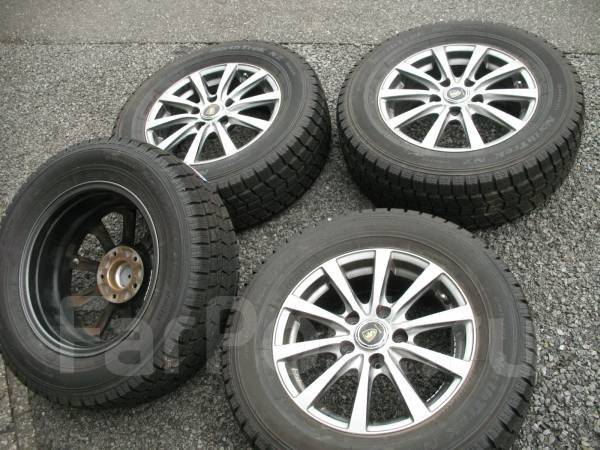 Литые диски Manaray R15 с зимними шинами 215/65R15 95Q North Trek N2. 6.0x15 5x114.30