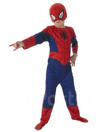 Куплю недорого костюм Человека-Паука с маской, разм 134