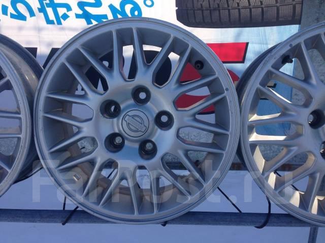 Nissan. 6.0x15, 5x114.30, ET40, ЦО 70,0мм.