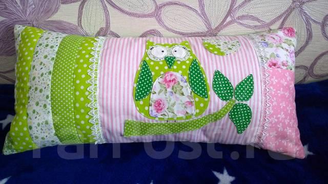 Подушка лоскутная