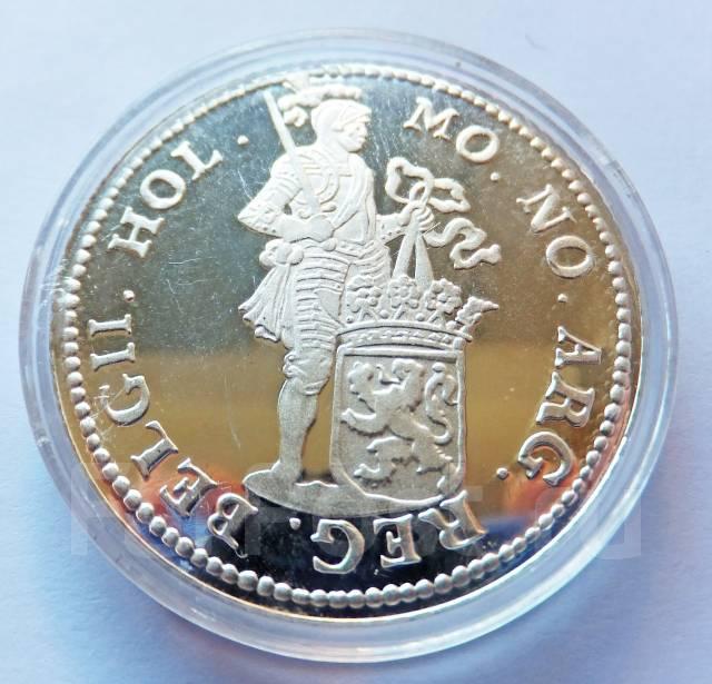 Нидерланды - Голландия Торговый дукат 1996 Серебро