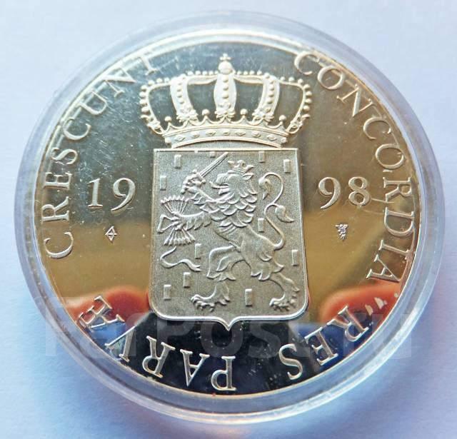 Нидерланды - Фрисланд Торговый дукат 1998 Серебро