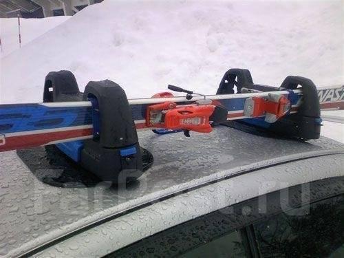 Магнитный автодержатель для горных лыж и сноуборда