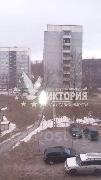 1-комнатная, улица Никифорова 10. Борисенко, агентство, 36 кв.м. Вид из окна днем