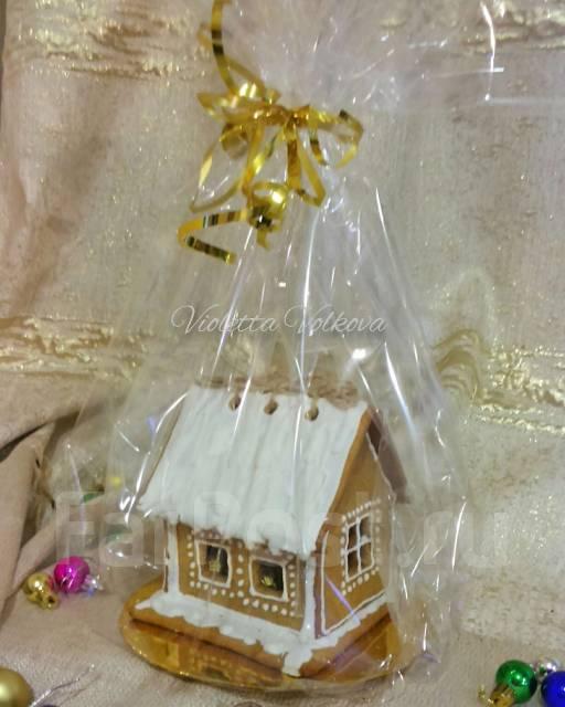 Пряничный домик из имбирного печенья. Под заказ