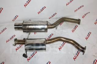 Выхлопная система. Nissan Silvia, S13 Nissan 180SX Двигатель SR20DET