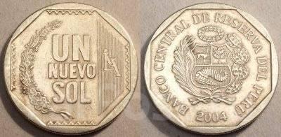 Перу 1 соль 1992 год