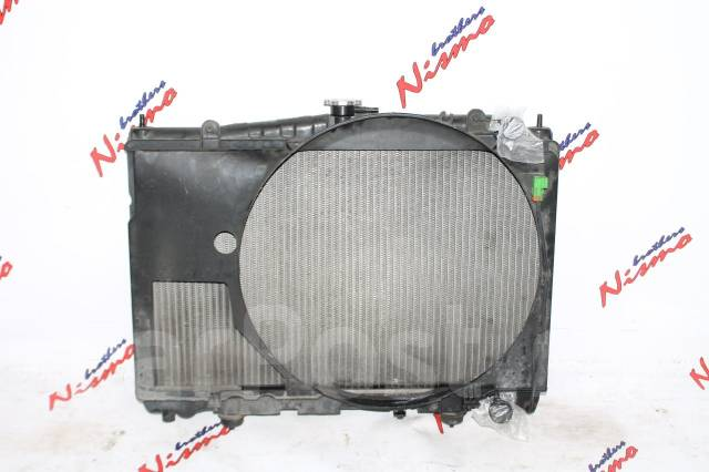 Радиатор охлаждения двигателя. Nissan Skyline, ER33, ENR33, HR33, BCNR33, ECR33 Двигатель RB25DET