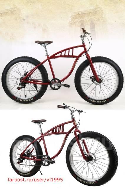 Велосипед Fatbike 26d Крвсный. Под заказ