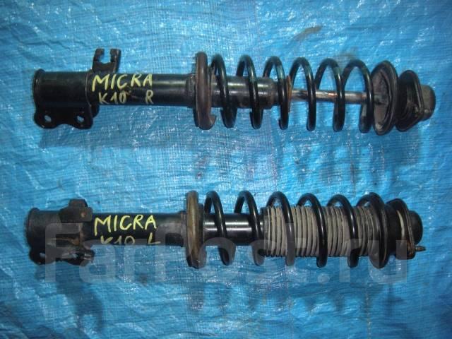 Амортизатор. Nissan Micra, K10 Двигатели: MA10S, MA10