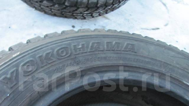 Yokohama Geolandar I/T. Зимние, без шипов, износ: 10%, 4 шт