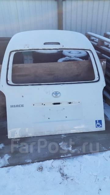 Дверь багажника. Toyota Hiace, TRH223 Toyota Regius Ace, KDH206, KDH211, TRH223, TRH200, TRH211, TRH216