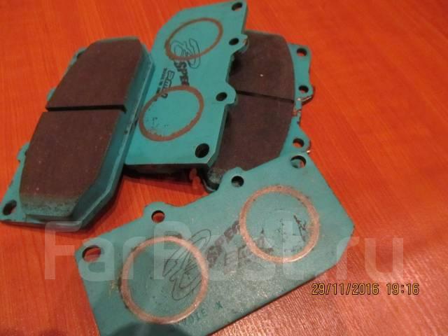 Тормозные колодки Subaru (4-поршневые)