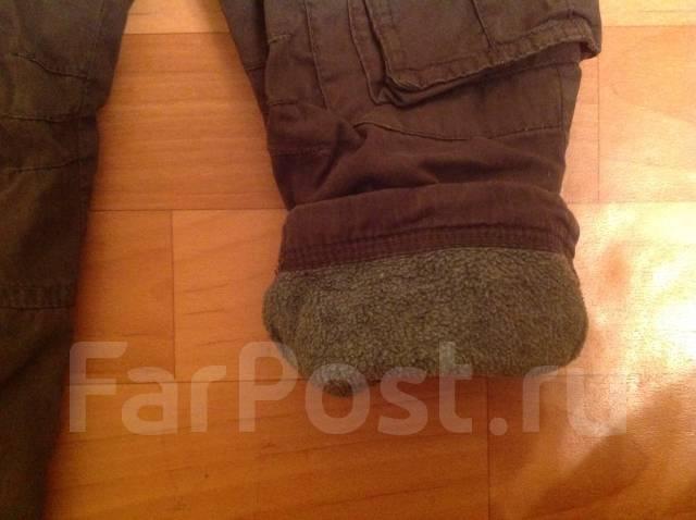 Тёплые штаны на сейчас. Рост: 86-98 см
