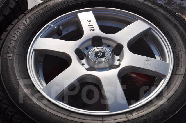 Bridgestone. 6.0x15, 5x114.30, ET53