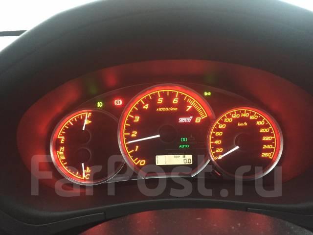 Панель приборов. Subaru Impreza WRX STI, GRB