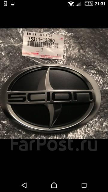 Эмблема решетки. Toyota Scion