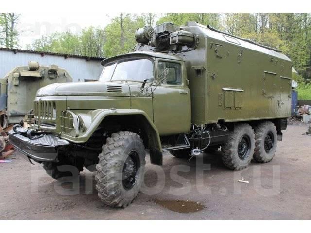 ЗИЛ 131. Зил 131 грузовой фургон, 6 000 куб. см., 3 000 кг.
