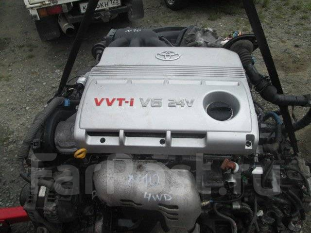 Двигатель. Lexus RX300, MCU35 Lexus RX300/330/350, MCU35 Toyota Harrier, MCU35, MCU35W, MCU36W, MCU36 Двигатель 1MZFE