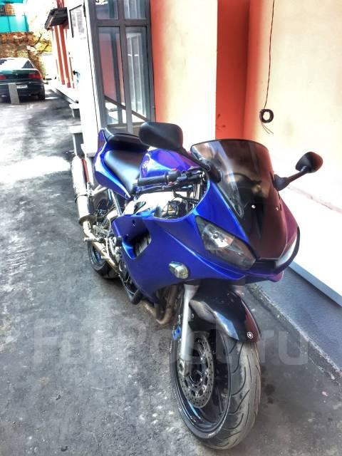 Yamaha R6 99-02 на запчасти