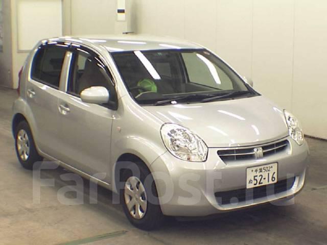 Toyota Passo. вариатор, передний, 1.0 (69 л.с.), бензин, 95 тыс. км, б/п
