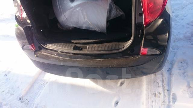 Бампер. Toyota Ractis, NCP120