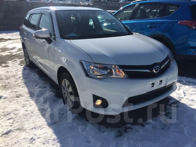 Toyota Corolla Fielder. вариатор, 4wd, 1.5 (105 л.с.), бензин, 118 тыс. км, б/п