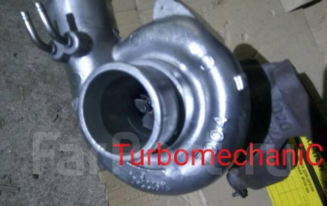 Турбина. Mitsubishi Delica Двигатель 4D56