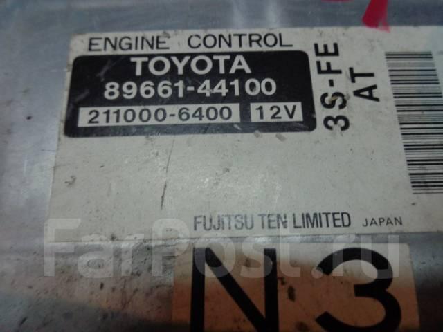 Блок управления двс. Toyota Ipsum, SXM10, SXM15 Toyota Gaia, SXM10 Двигатель 3SFE
