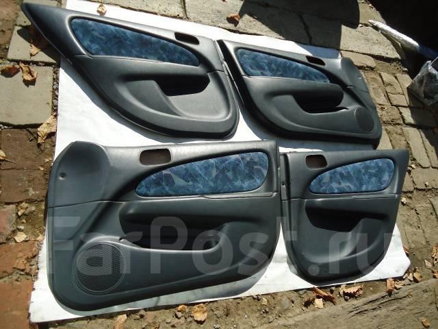 Обшивка двери. Toyota Corolla, AE114, AE115, AE110, AE111 Toyota Sprinter Carib, AE114, AE115, AE111 Двигатели: 7AFE, 4AFE