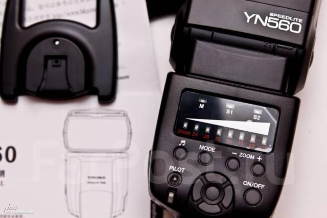 Вспышка Yangnuo 560 Новая Canon и Nikon