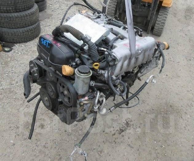 Двигатель. Toyota Progres, JCG10 Двигатель 1JZGE