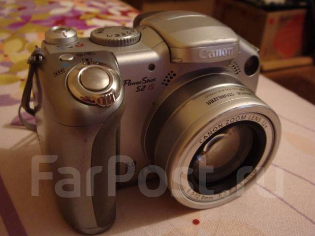 Canon PC1130 Powershot S2 is. 5 - 5.9 Мп, зум: 12х
