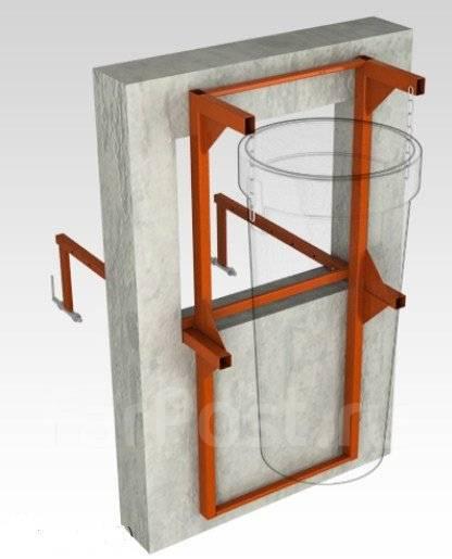 Мусоропровод строительный (мусороспуск) для сброса строительного мусор